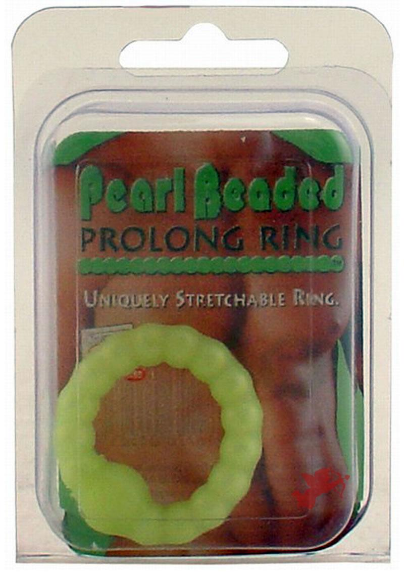 Prolong Pearl Beaded Cock Ring
