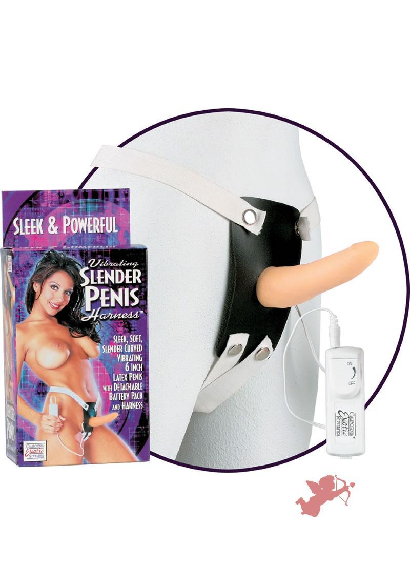 Vibrating Slender Penis
