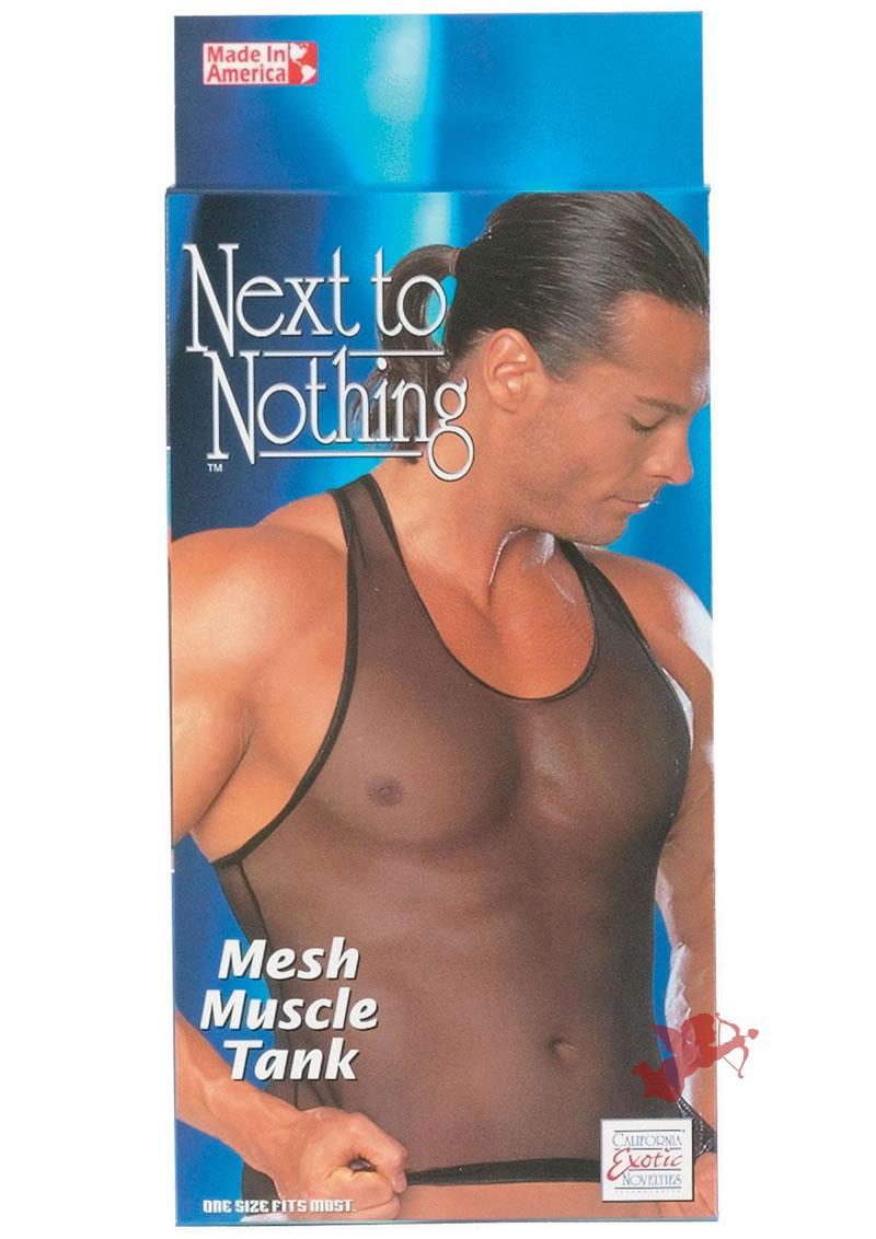 Mesh Muscle Tank