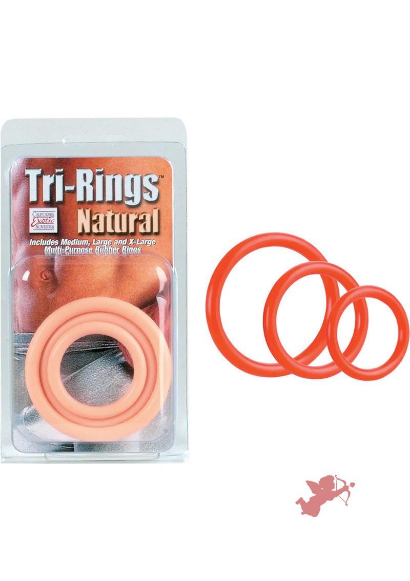 Tri Rings - Red