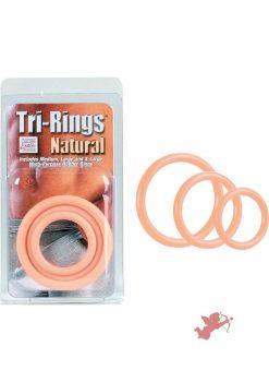 Tri Rings - Natural