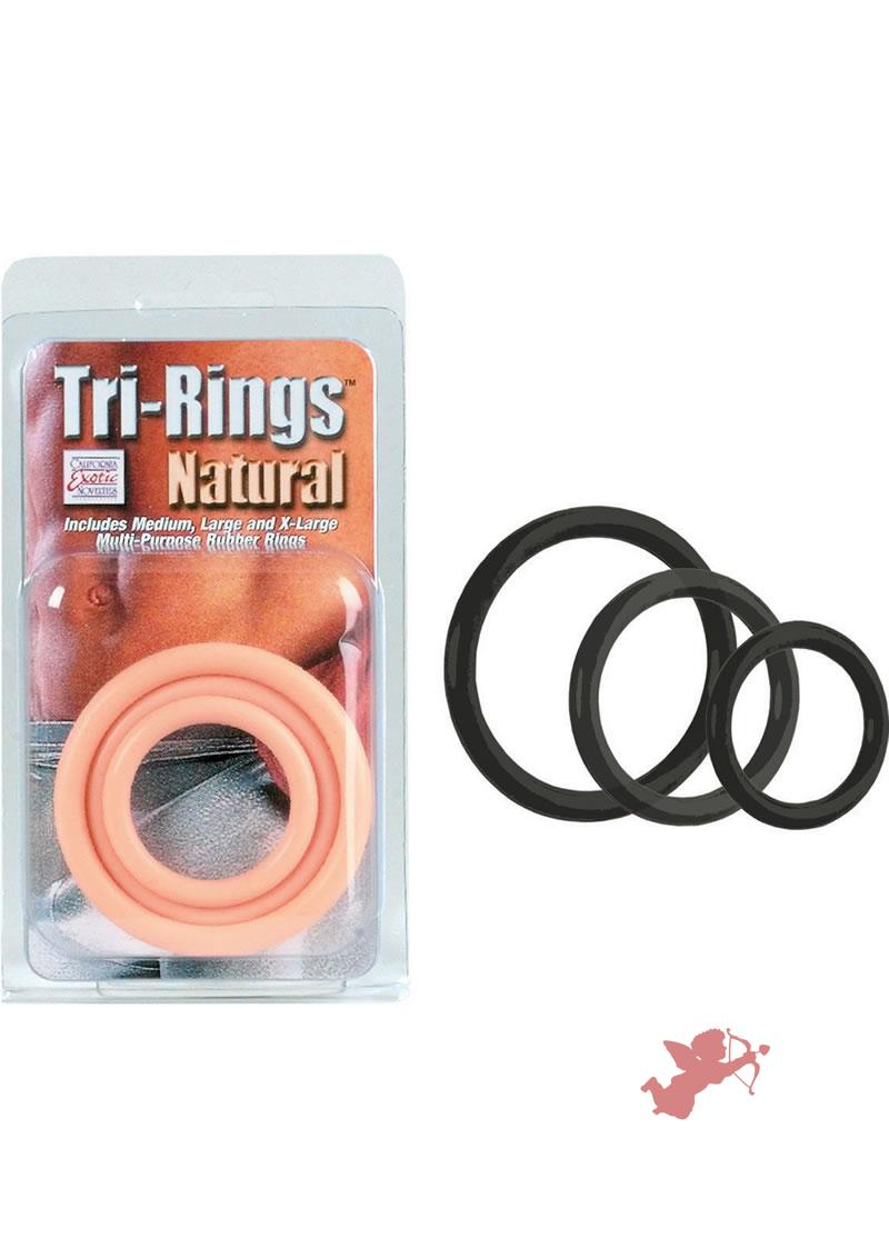 Tri Rings - Black
