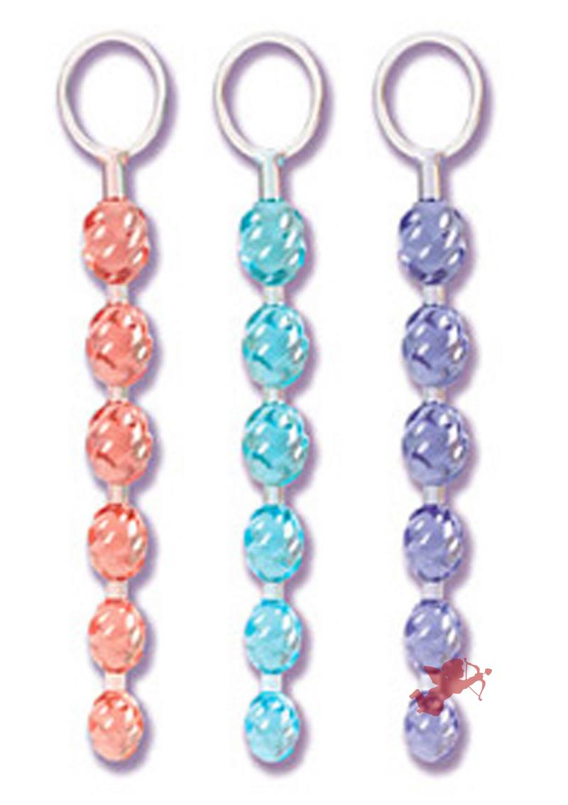 Swirl Pleasure Beads - Blue