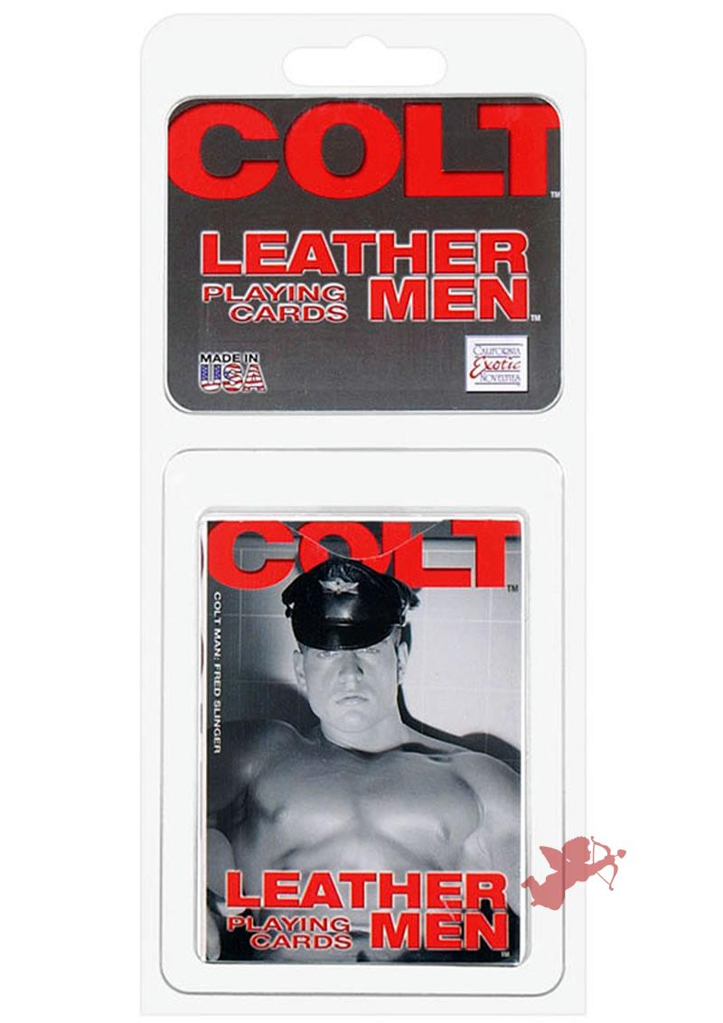 Colt Leather Men Cards
