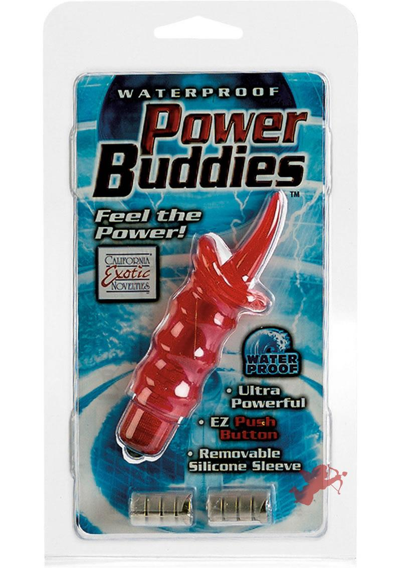 Waterproof Power Buddies - Red Tongue