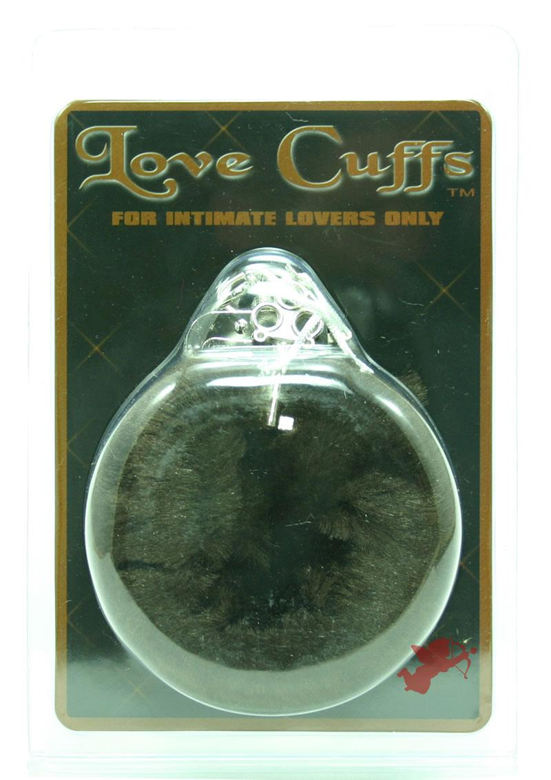 Plush Love Cuffs - Brown