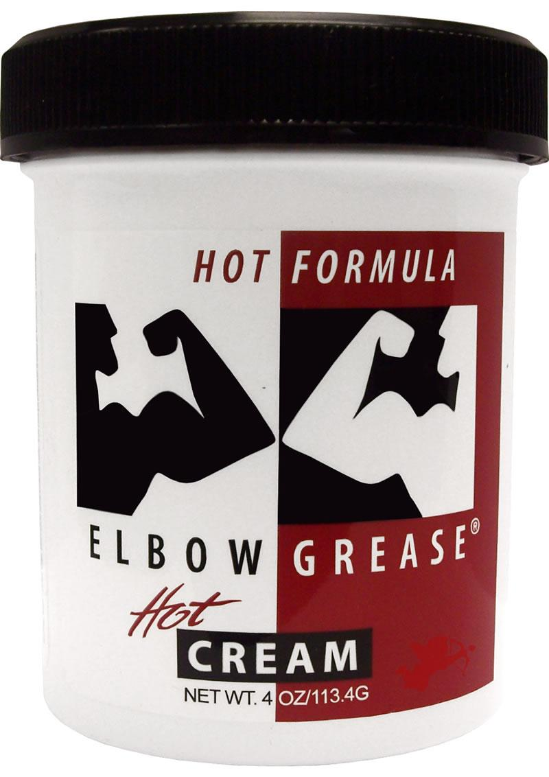 Elbow Grease Hot 4oz - Cream