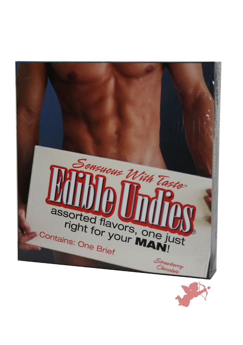 Edible Undies Male Strw/choc