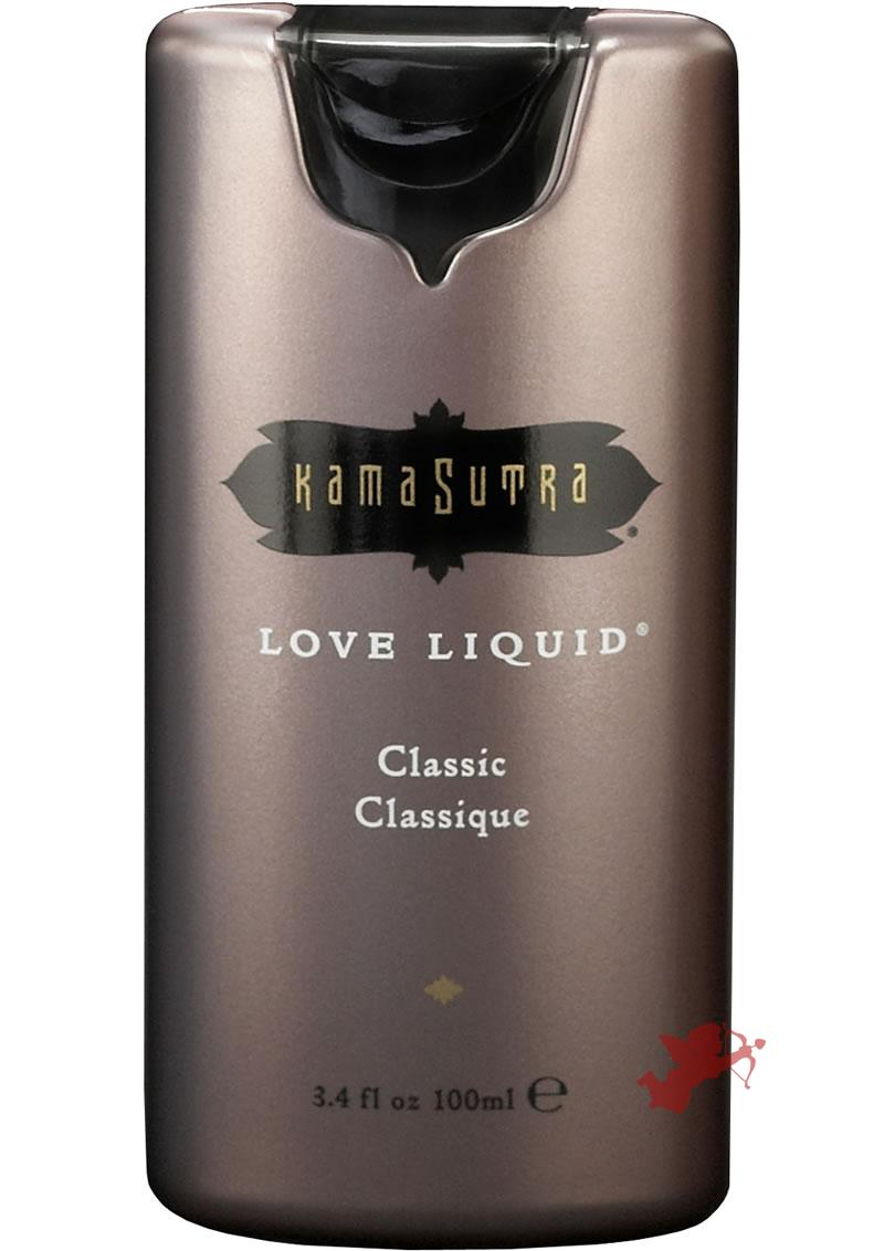 Love Liquid 3.4oz Lube