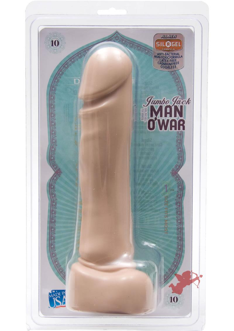 Jumbo Jack Man O` War White