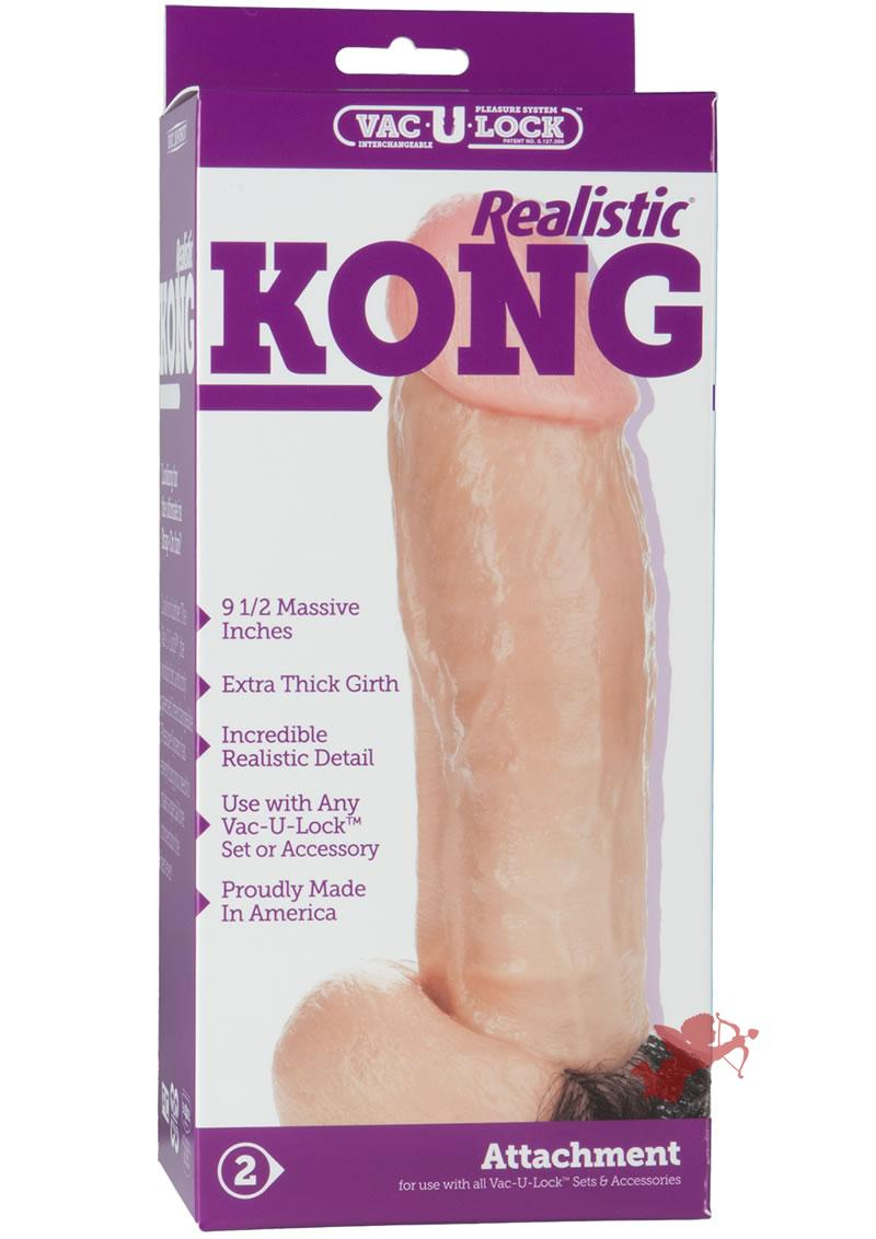 Kong The Realistic W/hair