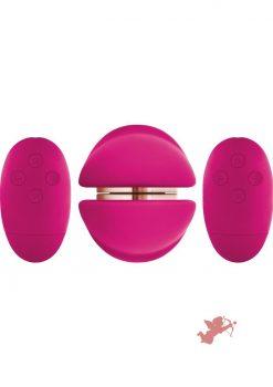 Shi/Shi Union Silicone Wired Remote Control Girl Girl Vibrator Pink