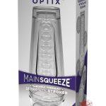 Main Squeeze Optix Ultraskyn Stroker Clear 7.5 Inch