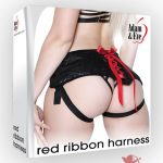 Adam and Eve Red Ribbon Harness