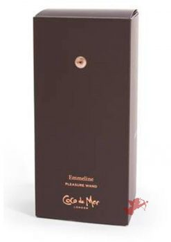 Coco de Mer Emmeline Pleasure Wand Brown
