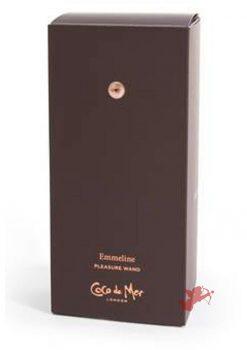 Coco de Mer Emmeline Pleasure Wand Brown