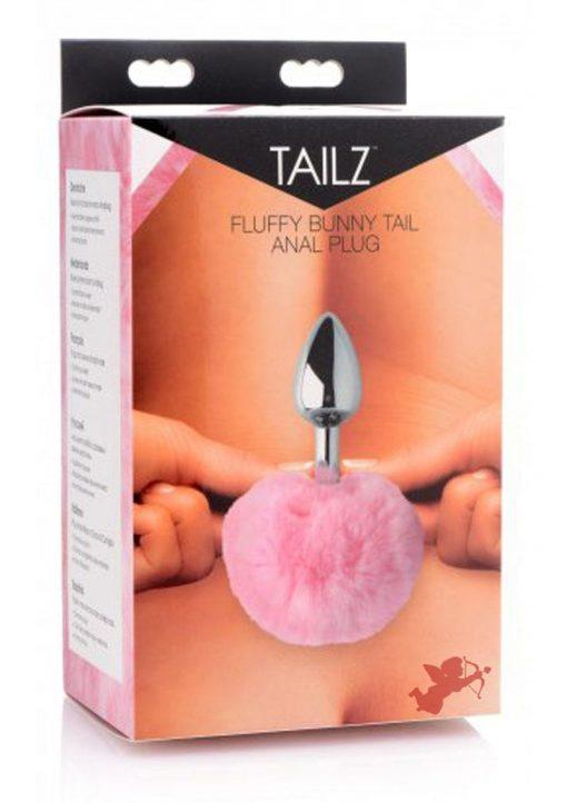 Tailz Fluffy Bunny Tail Anal Plug