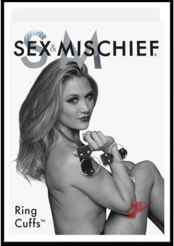 Sex And Mischief Ring Cuffs Black