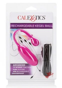 Rechargeable Kegel Ball Advanced Pink
