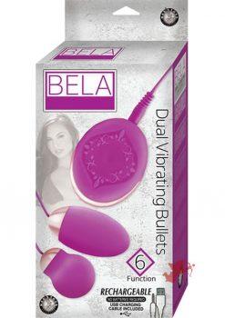 Bela Dual Vibrating Bullets Purple