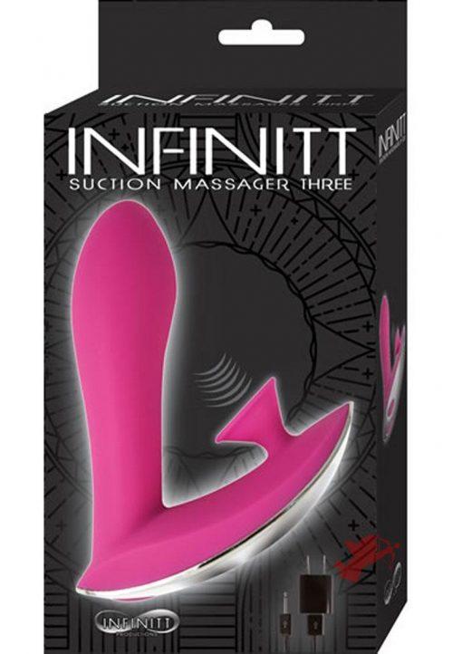 Infinitt Suction Massager Three Pink