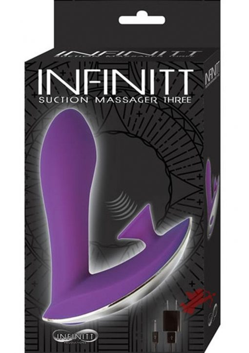 Infinitt Suction Massager Three Purple