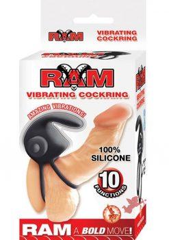 Ram Vibrating Cockring Black