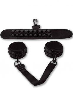 Pico Bong Cuffs Black