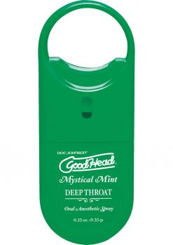 Goodhead Deep Throat To Go Oral Anesthetic Spray Mint .33 Ounce