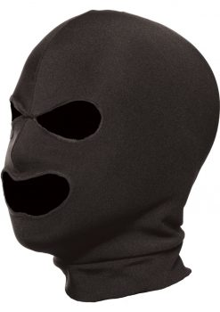 Master Series Spandex Hood With Eye And Mouth Holes Black