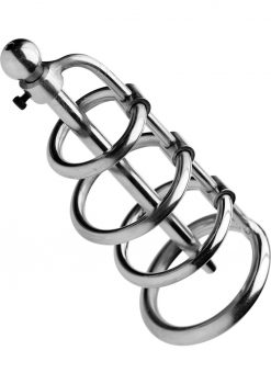 Master Series Cage 6 Inches Length Rings 1.25 To 1.85 Inches Diameter
