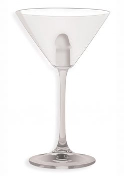 Light Up Martini Weenie Glass Clear