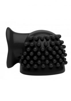 Master Series Thunder-Gasm 3 In 1 Silicone Clitoral Wand Massager Attachment