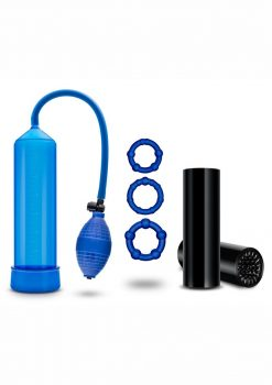 Quickie Kit Go Big Performance Pump Kit Blue