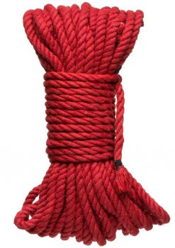Kink Hogtied Bind And Tie 6mm 50` Red