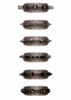Zero Tolerance Cockstars Waterproof Smoke 6 Assorted Shapes Per Pack