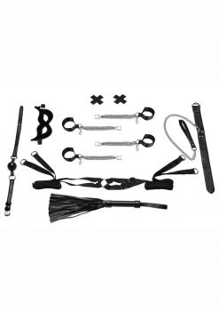 Lux Fetish All-Chained-Up Bondage Play Bedspreader 6 Piece Set