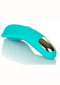 Slay Pleaser Massager Multispeed Silicone Green
