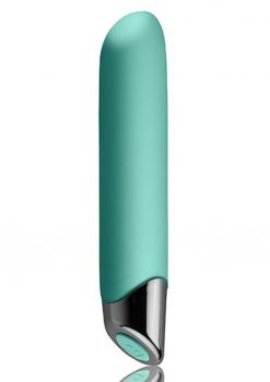 Chaiamo Teal Vibrator Multi Function Waterproof