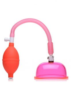Size Matters Vaginal Pump With Small Cup 3.8 Inch Pink