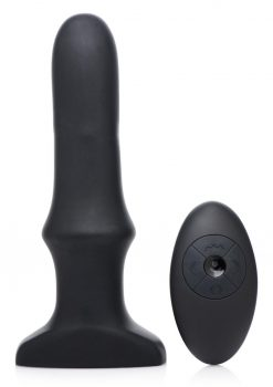 Prostatic Play  Inflatable Vibrating  Anal Plug With Remote Control Rechargeable Waterproof