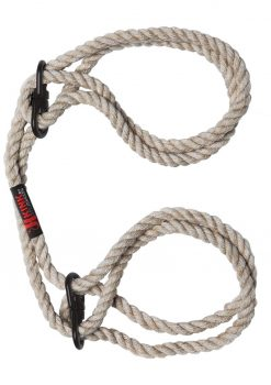 Kink Hogtied Hemp Cuffs Natural