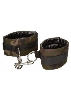 Colt Camo Universal Cuffs Adjustable Bondage