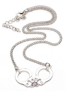 Master Series Cuff Her Handcuff Necklace Nickel Free