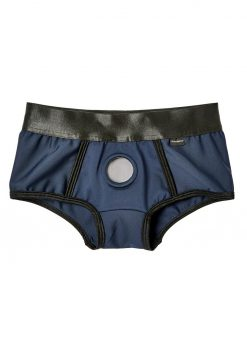 EM. EX. Active Harness Wear Fit Harness Boy Shorts Blue Double Extra Large - 34-37