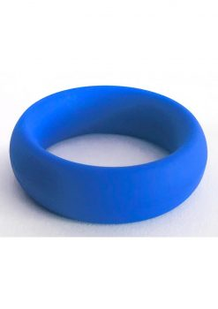 Bone Yard Meat Rack Beef Up Bulge Ring Silicone Cock Ring Blue