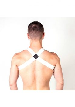 Prowler Red Sports Harness Lite Wht S/m