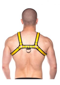Prowler Red Bull Harness Blk/yell Xl