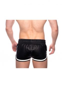 Prowler Red Leather Sport Shorts Wht Xl