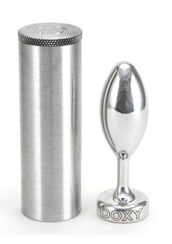 Doxy Smooth Butt Plug Metal Non Vibrating
